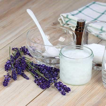 making lavendar deodorant
