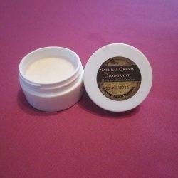 lime and cinnamon deodorant cream